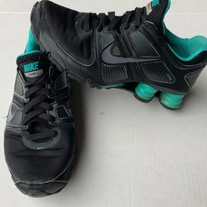 Nike Flywire Turbo 11 Teal and Black